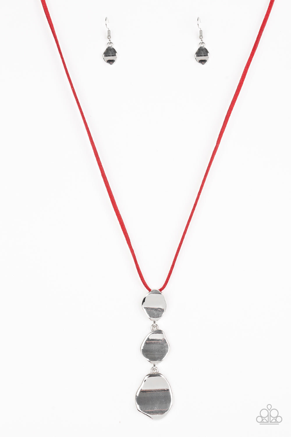 Paparazzi Necklace-Embrace the Journey-Red