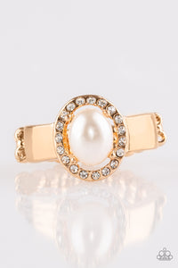 Paparazzi Ring-Upper Uptown-Gold