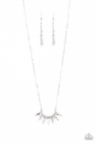 Paparazzi Necklace-Empirical Elegance-Silver