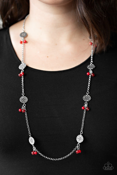Paparazzi Necklace-Color Boost-Red