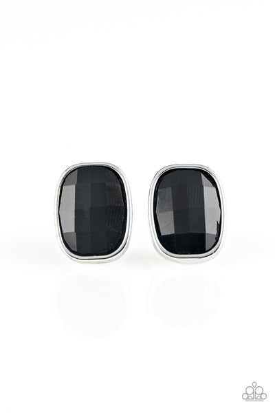 Paparazzi Earring-Incredibly Iconic-Black