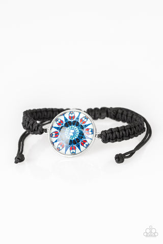 Paparazzi Bracelet-Tropic Topic-Blue
