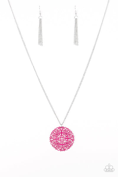 Paparazzi Necklace-Midsummer Musical-Pink