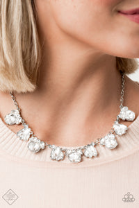 Paparazzi Necklace-Bling to Attention-White