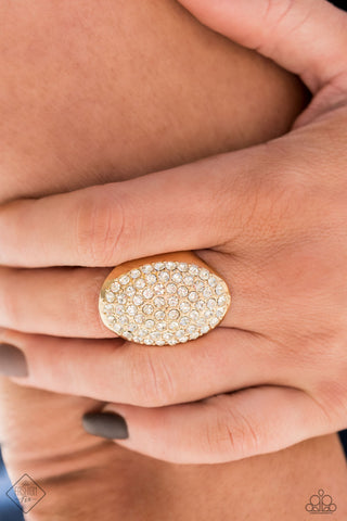 Paparazzi Ring-Test Your Luxe-Gold