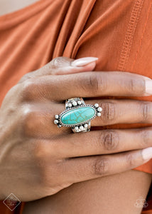 Paparazzi Ring-Pioneer Paradise-Blue