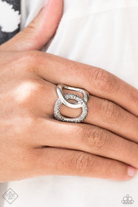 Paparazzi Ring-Unbreakable Bond-Silver
