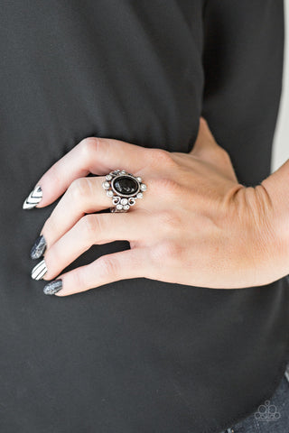 Paparazzi Ring-Noticeable Notable-Black