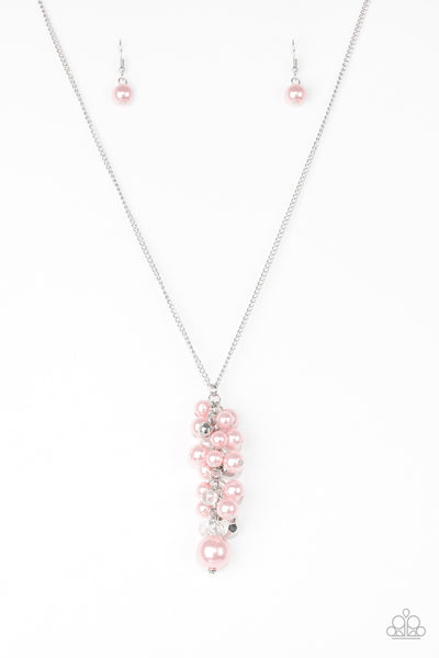 Paparazzi Necklace-Ballroom Belle-Pink