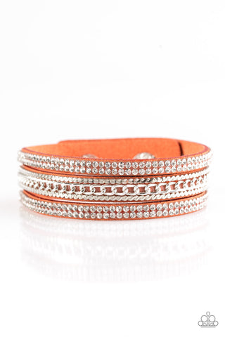 Paparazzi Bracelet-Unstoppable-Orange