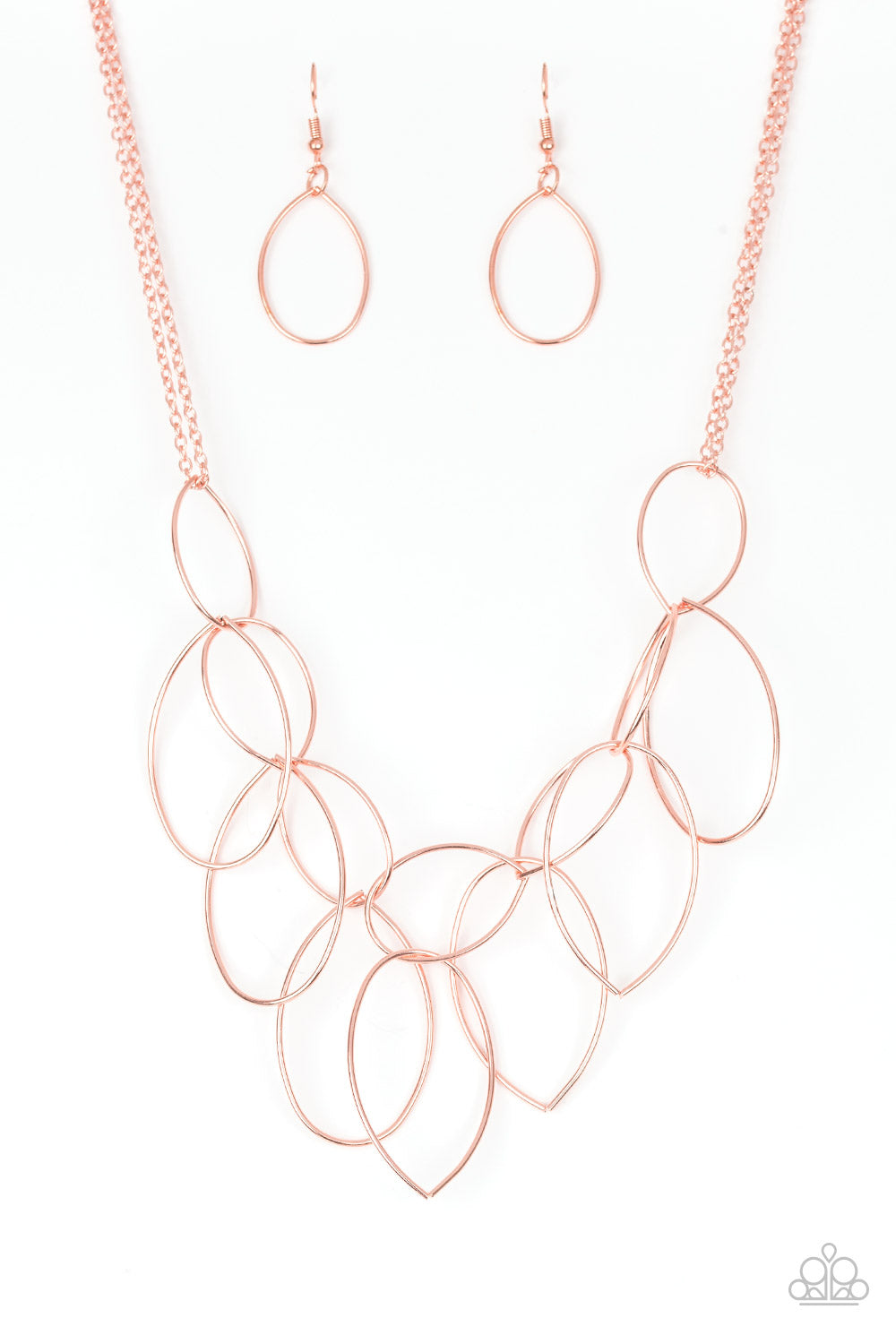 Paparazzi Necklace-Top TEAR Fashion-Copper