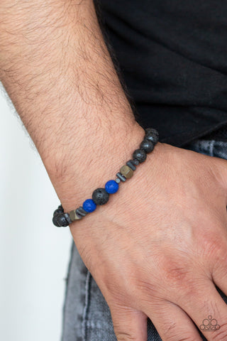 Paparazzi Bracelet-Empowered-Blue