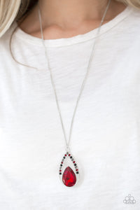 Paparazzi Necklace-Notorious Noble-Multi