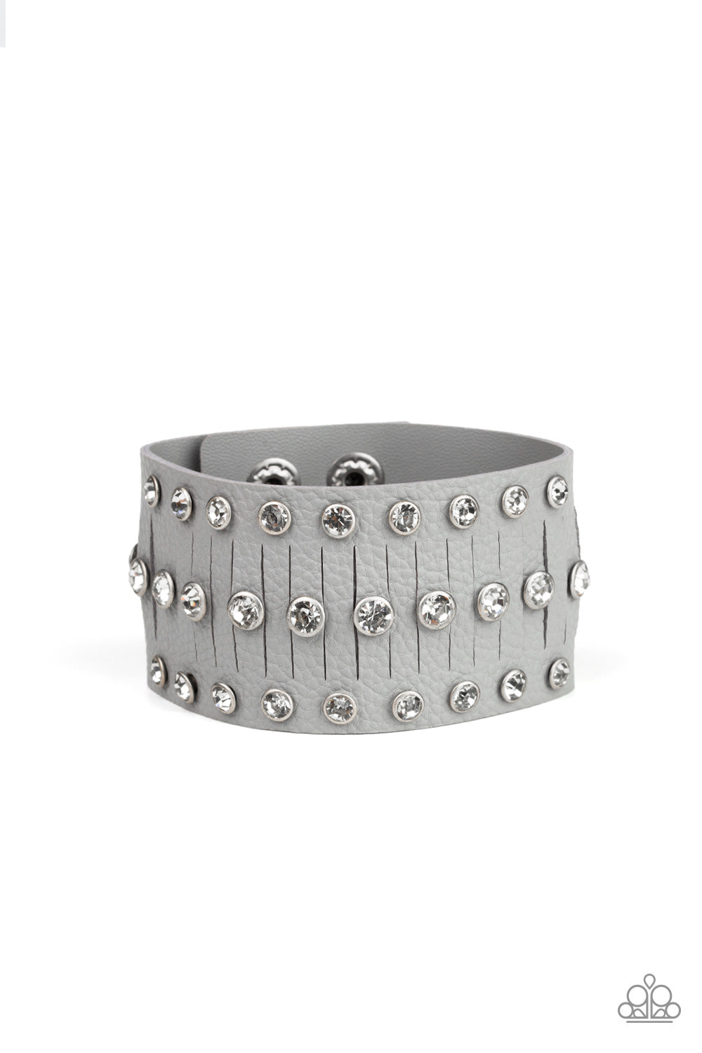Paparazzi Bracelet-Now Taking the Stage-Silver