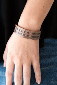 Paparazzi Bracelet-Absolute Amazon-Copper