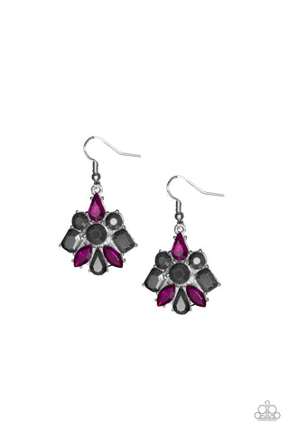 Paparazzi Earring- Fiercely Famous-Multi