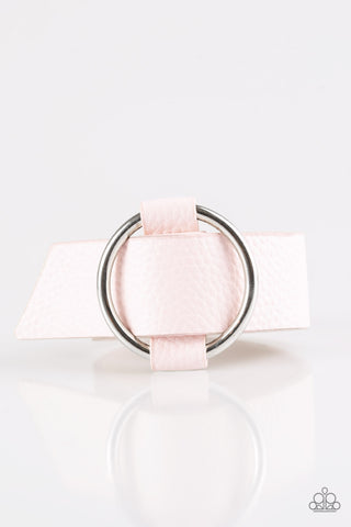 Paparazzi Bracelet-Simply Stylish-Pink