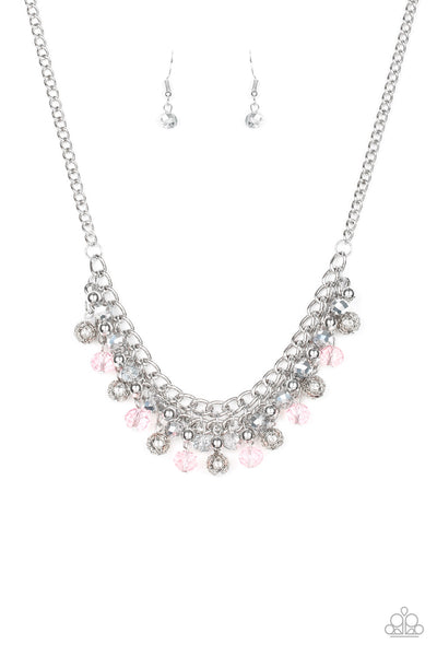 Paparazzi Necklace-Party Spree-Pink