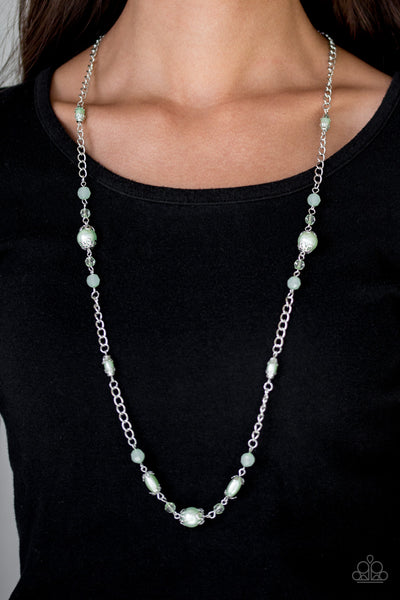 Paparazzi Necklace-Magnificently Milan-Green