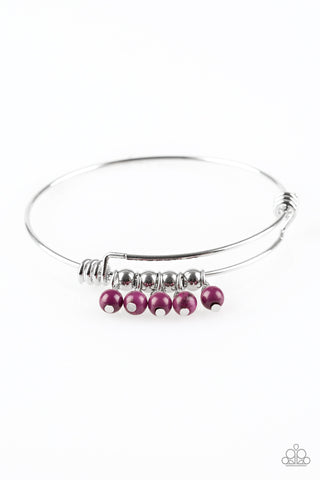 Paparazzi Bracelet-All Roads Lead to Roam-Purple