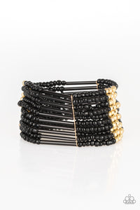 Paparazzi Bracelet-Rural Retreat-Gold