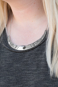 Paparazzi Necklace-Arizona Adventure-Black