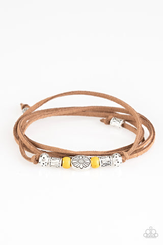 Paparazzi Bracelet-Clear a Path-Yellow