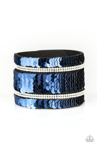 Paparazzi Bracelet-Mermaids Have More Fun-Blue