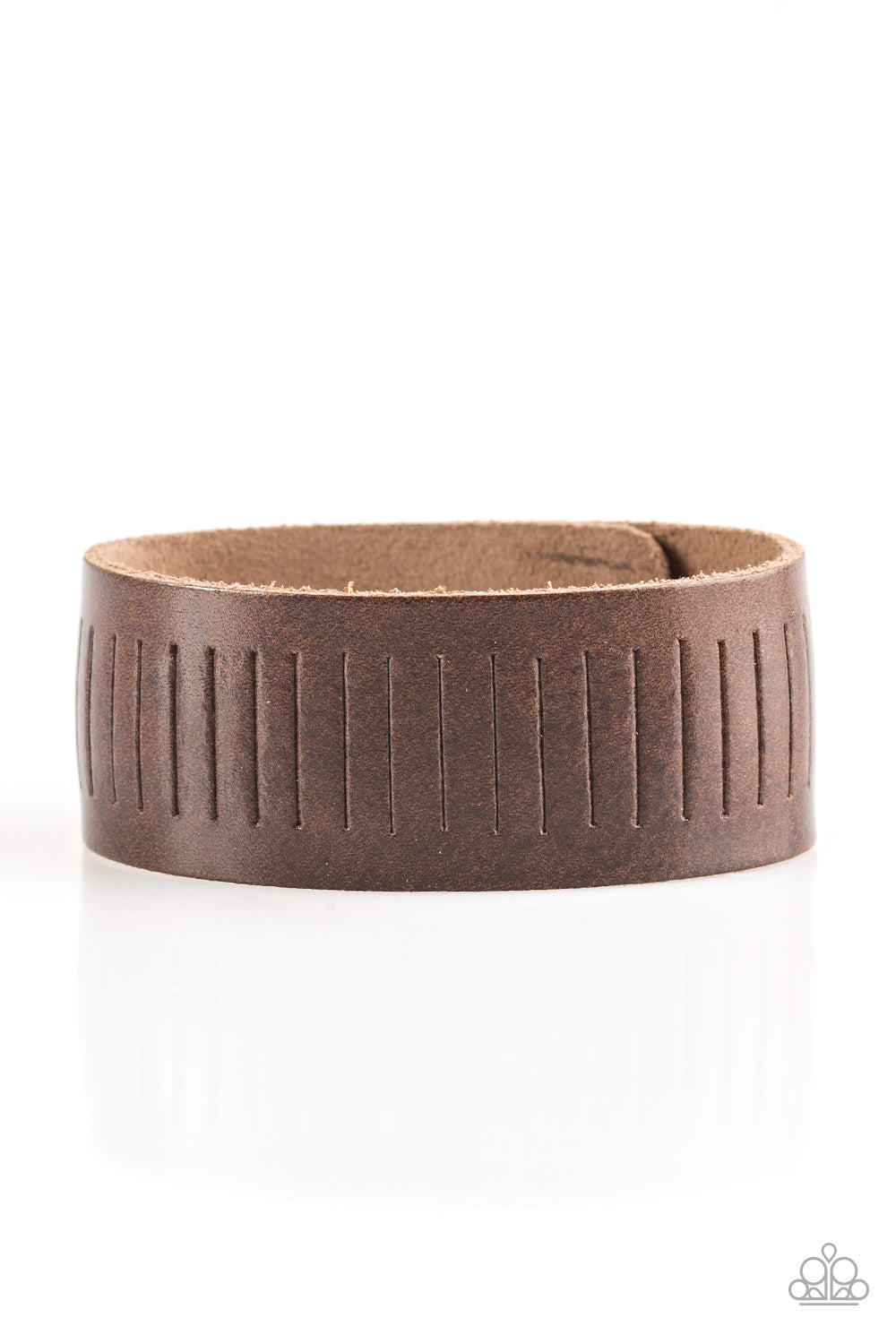Paparazzi Bracelet-Take a Drive-Brown