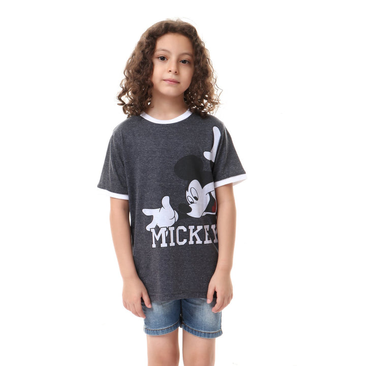 boys- mickey- mouse- printed- t-shirt- - dark- grey