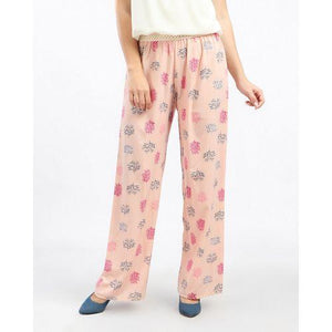 Patterned Loose Fit Pants - Simon