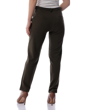 Formal Trousers - Olive