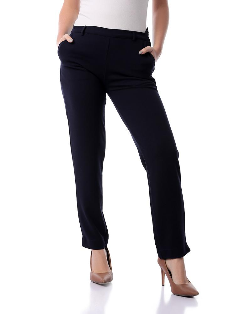 Formal Trousers - Navy Blue