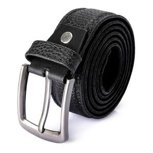 textured-leather-buckle-closure-belt-black