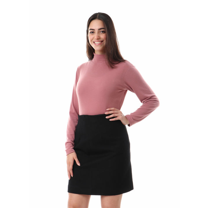 Plain_High_Neck_Basic_Winter_Top_-_Dusty_Rose