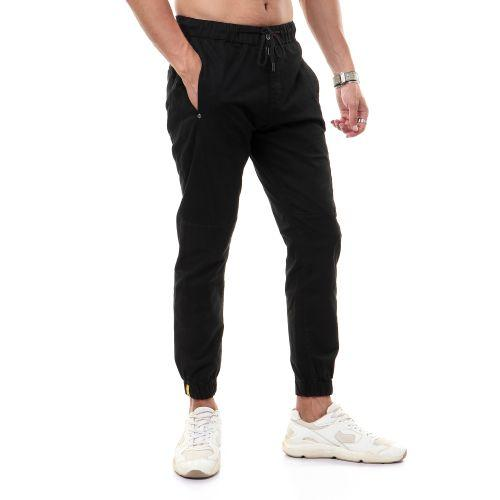black-fashionable-plain-button-pants