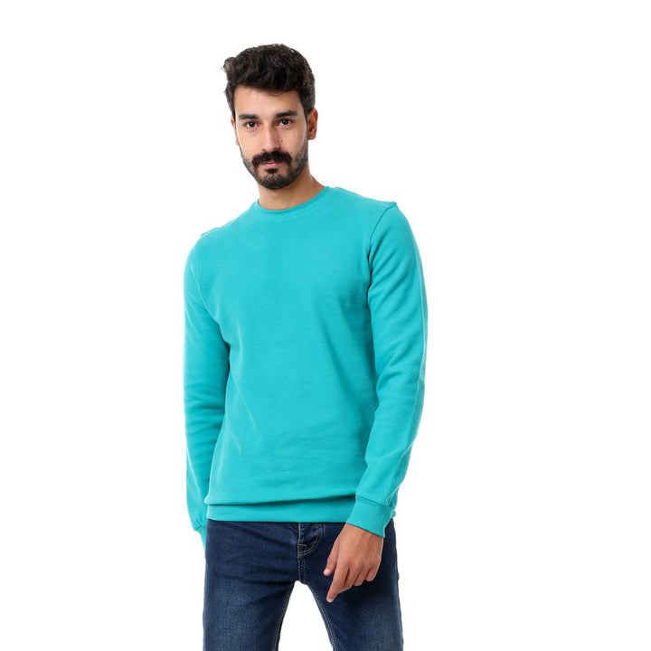 Ribbed_Cozy_Round_Teal_Green_Sweatshirt