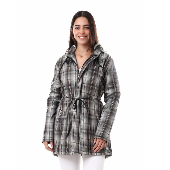 Tartan_Pattern_Zipped_Hooded_Jacket_-_Grey_&_Black