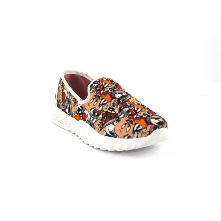 Canvas Slip On Printed  Shoes FOR  Women  - Multicolour 5