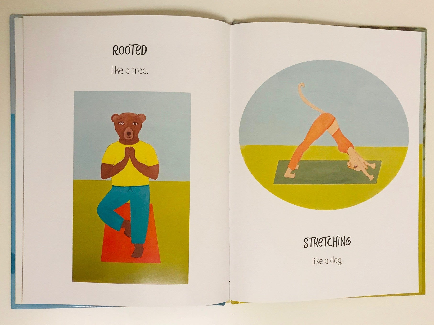 Yoga Bird Book