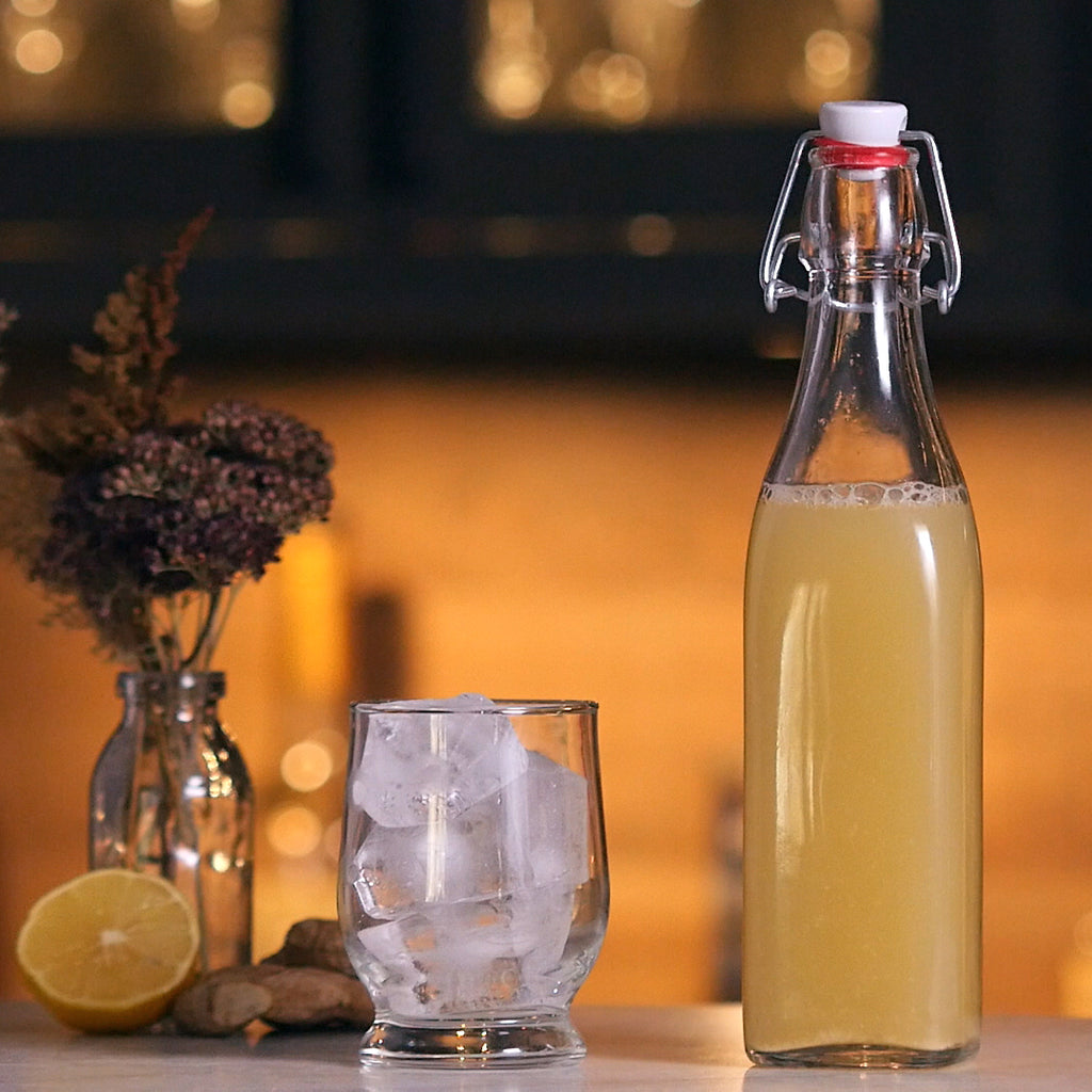 HOMEMADE GINGER BEER