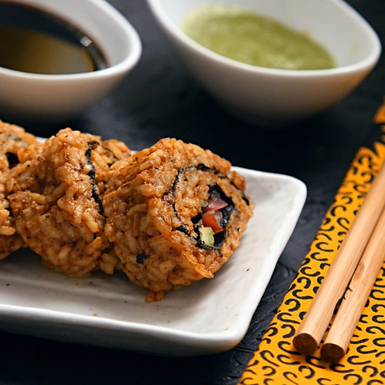 JOLLOF RICE SUSHI – FUSION (WEST AFRICAN)