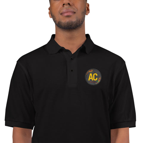 AC Embroidered Polo Shirt