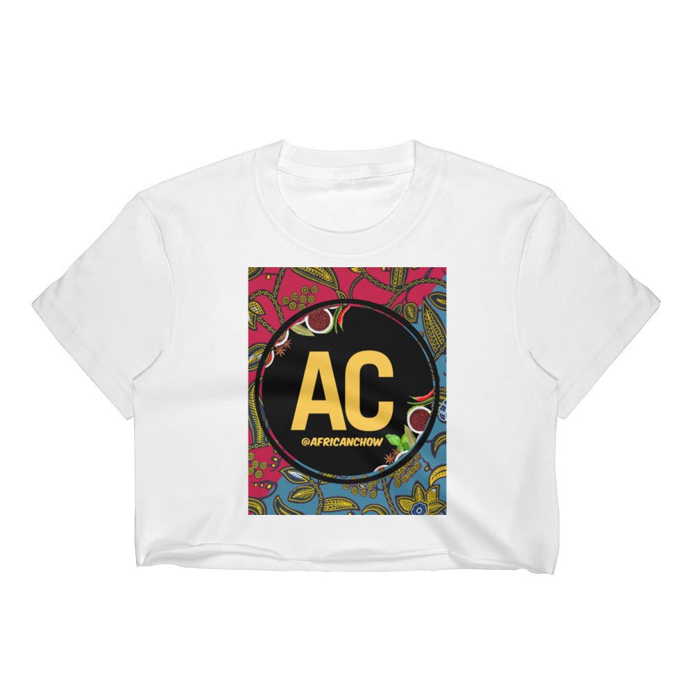 AC Ankara Women's Crop Top