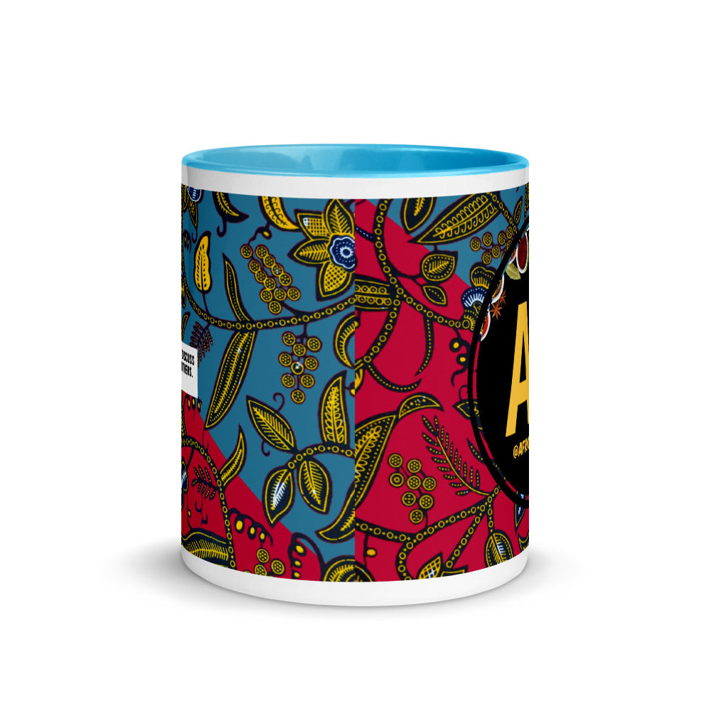 Africanchow Mug with Color Inside