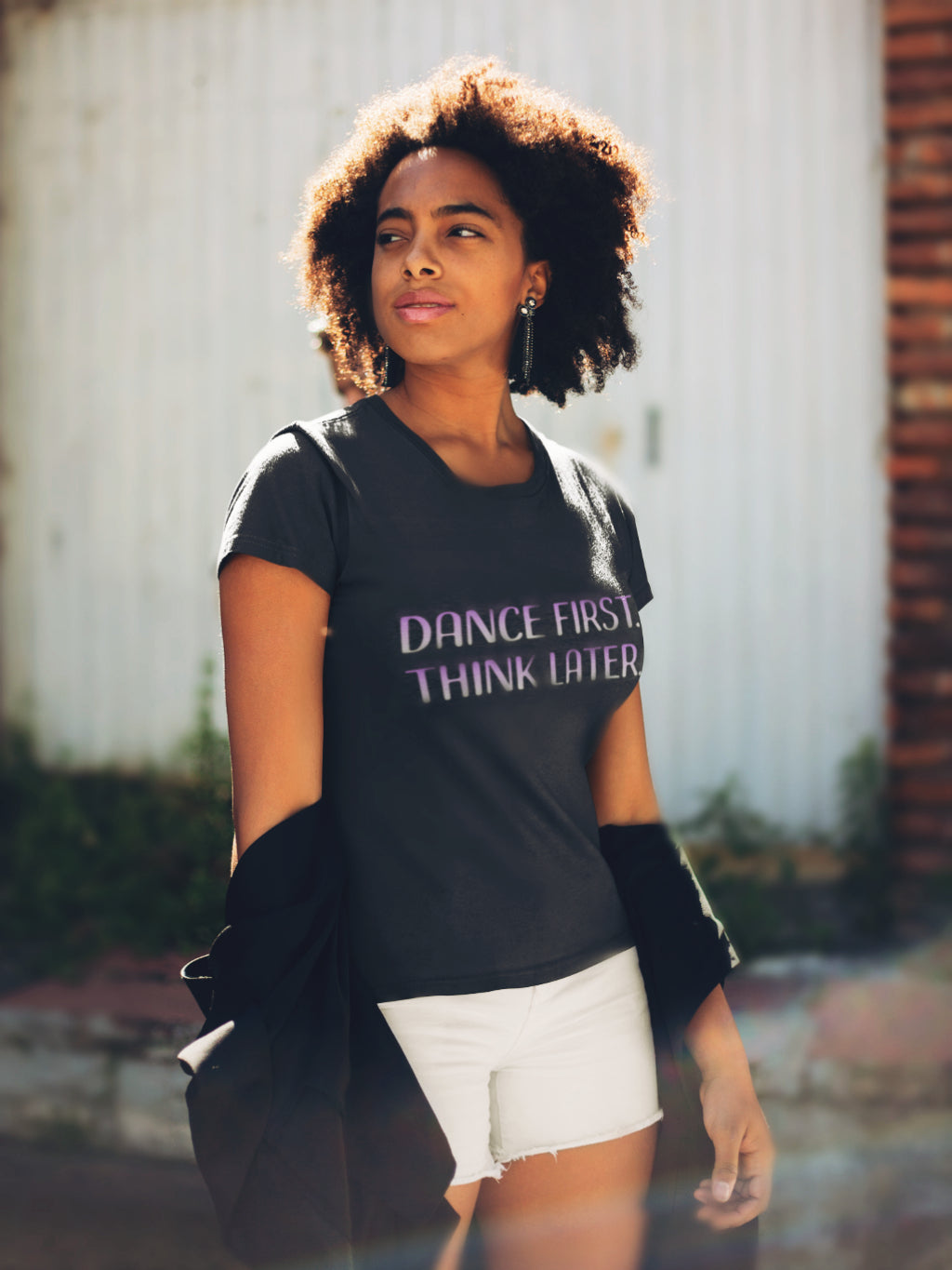 DANCE FIRST Crew Neck T-shirt