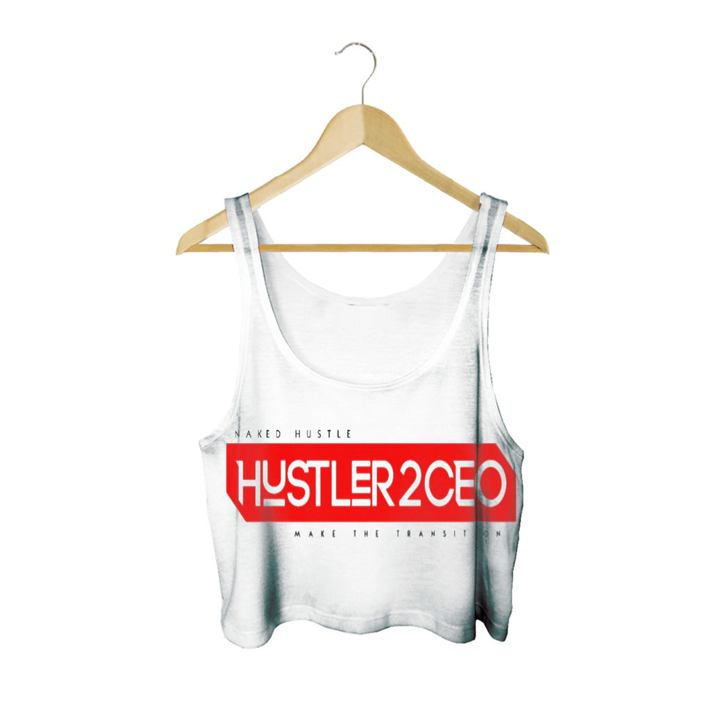 Hustler 2 CEO Sleeveless crop top