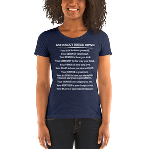 ASTROLOGY BREAK DOWN short sleeve t-shirt