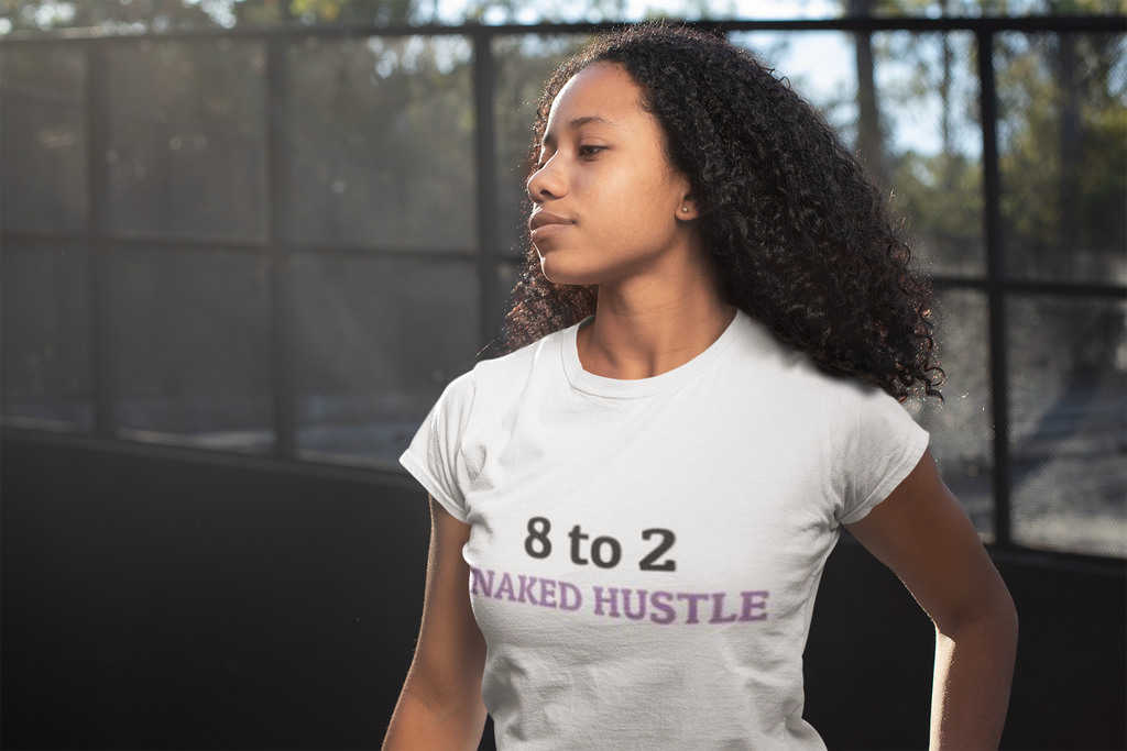 8 to 2 HUSTLE  Crop Top