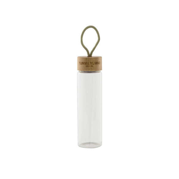 Yummii Yummii Water Bottle 600 ml Glass Bottles Borosilicate Glass